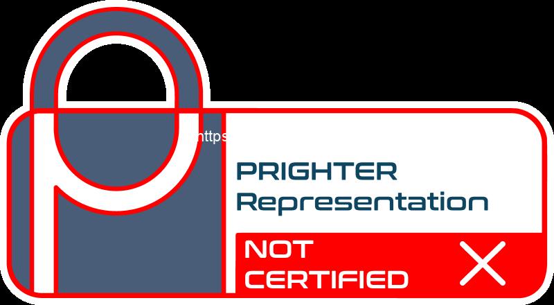 Prighter certificate of Art 27 representation